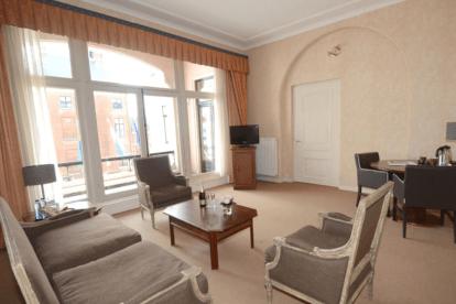 Royal suite met whirlpool
