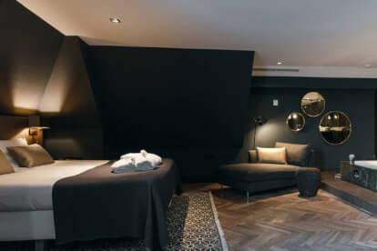 Comfort deluxe kamer met open badkamer